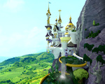 3d_model canterlot chritsel render scenery