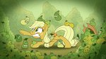 absurdres applejack highres pear pirill-poveniy