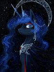 highres koviry princess_luna traditional_art