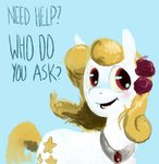 ask-yellowstar original_character spectralunicorn text yellowstar