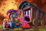 harwick magic tempest_shadow the_great_and_powerful_trixie wagon