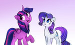 absurdres highres princess_twilight rarity thefloatingtree twilight_sparkle