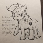 mychelle scootaloo traditional_art