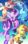 kawaiipony2 moondancer princess_twilight starlight_glimmer sunset_shimmer the_great_and_powerful_trixie twilight_sparkle
