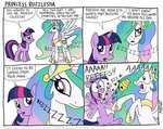 bees comic kturtle princess_celestia twilight_sparkle