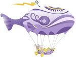 airshipping dirigible highres misterlolrus transparent vector