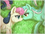 inuhoshi-to-darkpen lyra_heartstrings lyrabon shipping sweetie_drops
