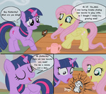 artist_unknown bunny comic fluttershy twilight_sparkle