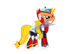 applejack christheponyguy megaman_(series) parody sword weapon zero