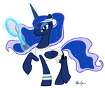 magic princess_luna tennis transparent viktornewman