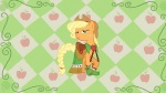 applejack dress gala_dress highres shelltoontv vector wallpaper
