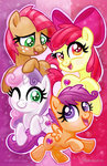 apple_bloom babs_seed cutie_mark_crusaders scootaloo sophillia sweetie_belle