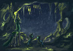 cave changeling plainoasis queen_chrysalis rain