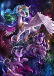 assasinmonkey highres princess_celestia princess_twilight starlight_glimmer twilight_sparkle