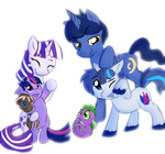 colt filly noogie parents shining_armor spectrumpony spike twilight's_dad twilight_sparkle twilight_velvet young