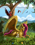 bear bird butterfly fluttershy horselike parrot rabbit tsitra360