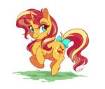bow dennyvixen highres sunset_shimmer