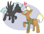cuteosphere kiss shipping thunderhoof thunderlane trenderhoof