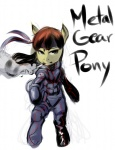 apple_bloom citlalicue crossover metal_gear_solid solid_snake