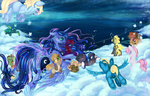 children_of_the_night original_character princess_luna singing tzu_lin