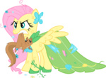 fluttershy highres insanity sansbox transparent vector