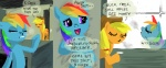 420 applejack cigarette comic parody rainbow_dash tocupine
