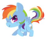 chibi miss-glitter rainbow_dash transparent