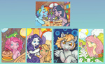 applejack auction book cupcake derpy_hooves fluttershy for_sale gummy pinkie_pie rabbit rainbow_dash rarity spike sukeile twilight_sparkle