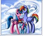 filly firefly g1 generation_leap highres matrosha123 parents photo rainbow_dad rainbow_dash