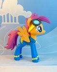 goggles grown_up krowzivitch photo scootaloo sculpture unifrom wonderbolts