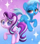 celebi-yoshi starlight_glimmer the_great_and_powerful_trixie