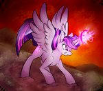 highres magic nessacity princess_twilight twilight_sparkle