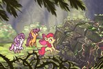 apple_bloom cutie_mark_crusaders gravlites highres scootaloo sweetie_belle