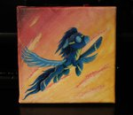 flying horseez soarin traditional_art wonderbolts