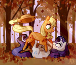 applejack forest jademoona rarijack rarity shipping trees