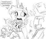 baby magic plushie princess_cadance princess_flurry_heart quill scroll silfoe smarty_pants text toy