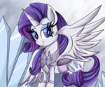 alicorn armor daniel-sg princess rarity