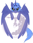 highres mare_in_the_moon moon princess_luna spiritofthwwolf transparent vector