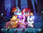 applejack fluttershy mackinn7 magic main_six pie pinkie_pie rainbow_dash rarity scepter twilight_sparkle twilights_scepter vine