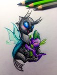 changeling spike theorderofalisikus thorax traditional_art