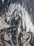 absurdres changeling goldenrainynight highres queen_chrysalis traditional_art