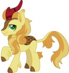 braeburn cloudyglow highres kirin species_swap vector
