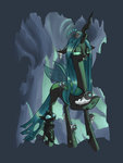 changeling highres queen_chrysalis rocket-lawnchair