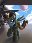 jet military rainbow_dash swaetshrit