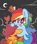 mackinn7 noogie rainbow_dash scootaffection scootaloo