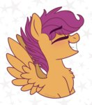 pink-pone scootaloo