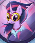 costume masked_matterhorn milanoss portrait power_ponies twilight_sparkle