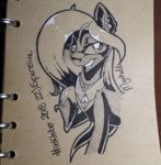 mychelle original_character traditional_art
