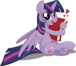 absurdres book highres jcosneverexisted princess_twilight transparent twilight_sparkle
