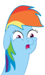looking_at_the_place_which_shall_not_be_named rainbow_dash reaction_image tranquilmind transparent